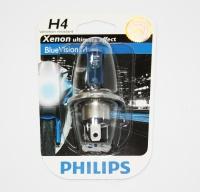 Žárovka PHILIPS 12342BVUBW H4 12V BLUEVISION 60/55W