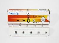 Žárovka PHILIPS 12516CP W1,2W 12V 1,2W